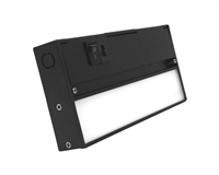 NICOR NUC-5 Series 8-inch Black Selectable LED Under Cabinet Light