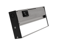 NICOR NUC-5 Series 8-inch Nickel Selectable LED Under Cabinet Light