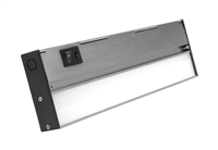NICOR NUC-5 Series 12-inch Nickel Selectable LED Under Cabinet Light