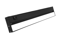 NICOR NUC-5 Series 21-inch Black Selectable LED Under Cabinet Light