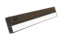 NICOR NUC-5 Series 21-inch Oil-Rubbed Bronze Selectable LED Under Cabinet Light