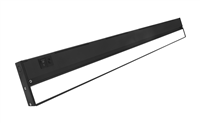 NICOR NUC-5 Series 30-inch Black Selectable LED Under Cabinet Light