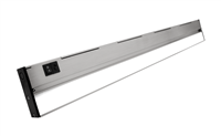 NICOR NUC-5 Series 30-inch Nickel Selectable LED Under Cabinet Light