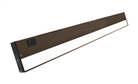 NICOR NUC-5 Series 30-inch Oil-Rubbed Bronze Selectable LED Under Cabinet Light