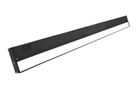 NICOR NUC-5 Series 40-inch Black Selectable LED Under Cabinet Light