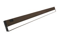 NICOR NUC-5 Series 40-inch Oil-Rubbed Bronze Selectable LED Under Cabinet Light