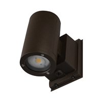 Dorado 35W Round LED Outdoor Wall Mount Cylinder Up/Down Light, Bronze