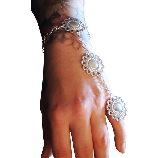 picture of the mandala slave bracelet
