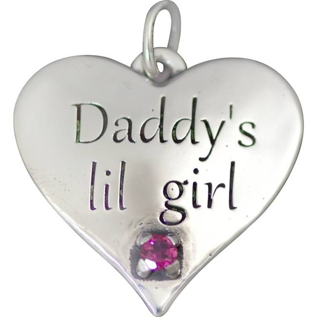 Daddy's lil girl pendant