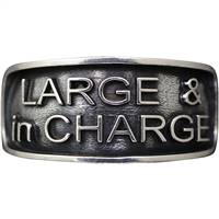 Large & in charge ring