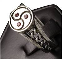 chains and triskelion ring