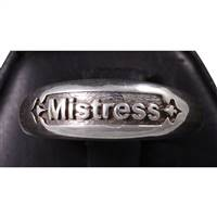 Mistress ring in tarnish resistant sterling silver
