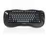 KYB-TOUGHBALL2IT  - Accuratus Toughball 2 Italian - Wireless 2.4GHz Multimedia Mini Keyboard with Trackball, Italian Layout Via Durable Stickers