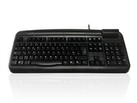 KYB500-107CUBK - Accuratus K107C - USB Professional Full Size Landing Contact Smart Card Keyboard