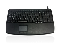 KYB500-730V2 - Accuratus 730V2 - USB Compact Scissor Key Keyboard with Numeric Keypad and Touchpad