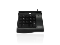 KYB500-K18AUBKB - Accuratus K18A - EPOS Keypad with 3 Track MSR & 6 Fully Programmable Cherry MX Keys