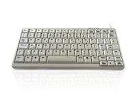 KYB500-K82A-W - Accuratus K82A - USB & PS/2 Premium Mini Scissor Key Keyboard - Off White