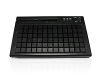 KYB500-S78ACMXUBK - Accuratus S78A - USB Mini EPOS Keyboard with MSR, Keylock and 78 Fully Programmable Cherry MX Keys