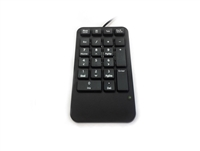 Accuratus 100 - Professional USB Wired Numeric Keypad with Integrated Palm Rest & Calculator, Tab, Backspace & Escape Keys