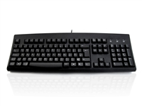 KYBAC260-UBLKEUR - Accuratus 260 - USB Full Size Professional Keyboard with Contoured Full Height Touch Typing Keys & Patented One Touch Euro Key