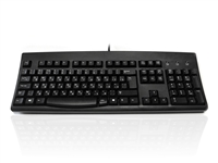 KYBAC260UP-BKCY - Accuratus 260 Russian - USB & PS/2 Full Size Russian Cyrillic Layout Professional Keyboard with Contoured Full Height Touch Typing Keys