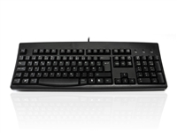 KYBAC260UP-BKNO - Accuratus 260 Norwegian - USB & PS/2 Full Size Norwegian Layout Professional Keyboard with Contoured Full Height Touch Typing Keys