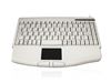 KYBAC540-PS2 - Accuratus 540 - PS/2 Professional Mini Keyboard with Touchpad
