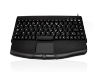 KYBAC540-PS2BLK - Accuratus 540 - PS/2 Professional Mini Keyboard with Touchpad