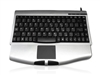 KYBAC540-USBSILV - Accuratus 540 - USB Professional Mini Keyboard with Touchpad