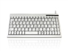 KYBAC595 - Accuratus 595 - PS/2 Professional Mini Keyboard with Mid Height Keys