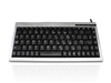 KYBAC595-PS2SILV - Accuratus 595 - USB Professional Mini Keyboard with Mid Height Keys