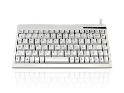 KYBAC595-USBWHT - Accuratus 595 - USB Professional Mini Keyboard with Mid Height Keys