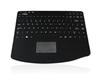 KYBNA-RF-540CV3B - Accuratus AccuMed 540 RF - RF 2.4GHz Wireless & Rechargeable Mini Sealed IP67 Antibacterial Clinical / Medical Keyboard with Touchpad