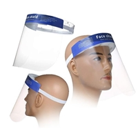 Accuratus - High Quality Visor Face Shield with Soft Padded Foam and Strap