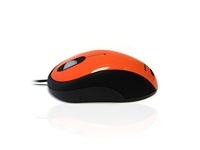 MOU-IMAGE-ORANGE - Accuratus Image Mouse - USB Full Size Glossy Finish Computer Mouse - Orange