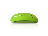 MOU-IMAGE-RF-GRN - Accuratus Image RF - Wireless RF 2.4Ghz Sleek Slim Glossy Finish Optical Mouse with Nano Receiver - Green