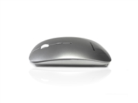 MOU-IMAGE-RF-SIL - Accuratus Image RF - Wireless RF 2.4Ghz Sleek Slim Glossy Finish Optical Mouse with Nano Receiver - Silver