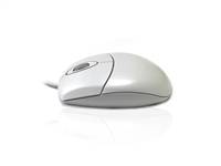 MOUAC3331-WHT - Accuratus 3331 - USB & PS/2 1000dpi Optical Full Size Professional Mouse