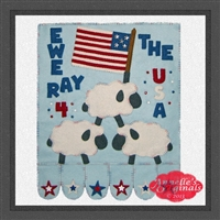 Ewe Ray 4 the USA (Hanging Version)