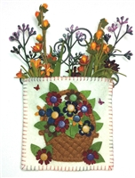 Mini-Me Heritage Flower Basket Gift Holder