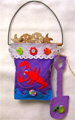 Mini-More Lobster Tales (Seashell, Gift Hanging)