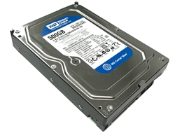 Western Digital Caviar Blue WD5000AAKS 500GB 16MB Cache 7200RPM SATA2 Hard Drive - OEM w/1 Year Warranty