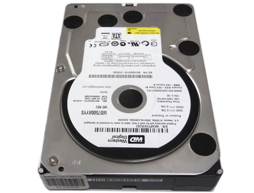 Western Digital RE2 750GB SATA//300 7200RPM 16MB Hard Drive