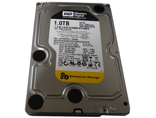 1 TB Western Digital Enterprise Storage