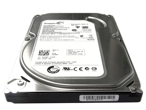 "New 250GB 5400RPM 8MB Cache SATA2 3.5/"" Hard Drive for PC//Mac w//1 Year Warranty"