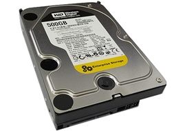 "Western Digital RE3 WD5002ABYS 500GB 16MB Cache SATA 3.0Gb/s 3.5"" Hard Drive - OEM w/1 Year Warranty"