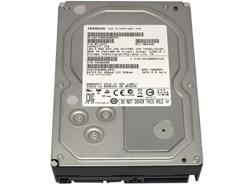 HITACHI 0F12456 Hitachi Ultrastar 7K3000 0F12456 3TB HUA723030ALA640 3000GB