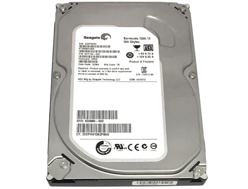 "Seagate 500GB ST3500413AS 16MB Cache 7200RPM SATA 3.5/"" HDD Hard Drive"