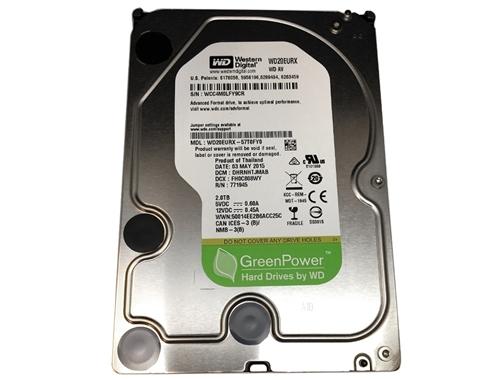 Western Digital AV-GP WD20EURX 2TB IntelliPower 64MB Cache SATA 6 0Gb/s  3 5