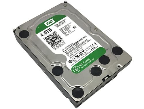 Western Digital 4 TB WD Green SATA III 5400 RPM 64 MB Cache Bulk ...